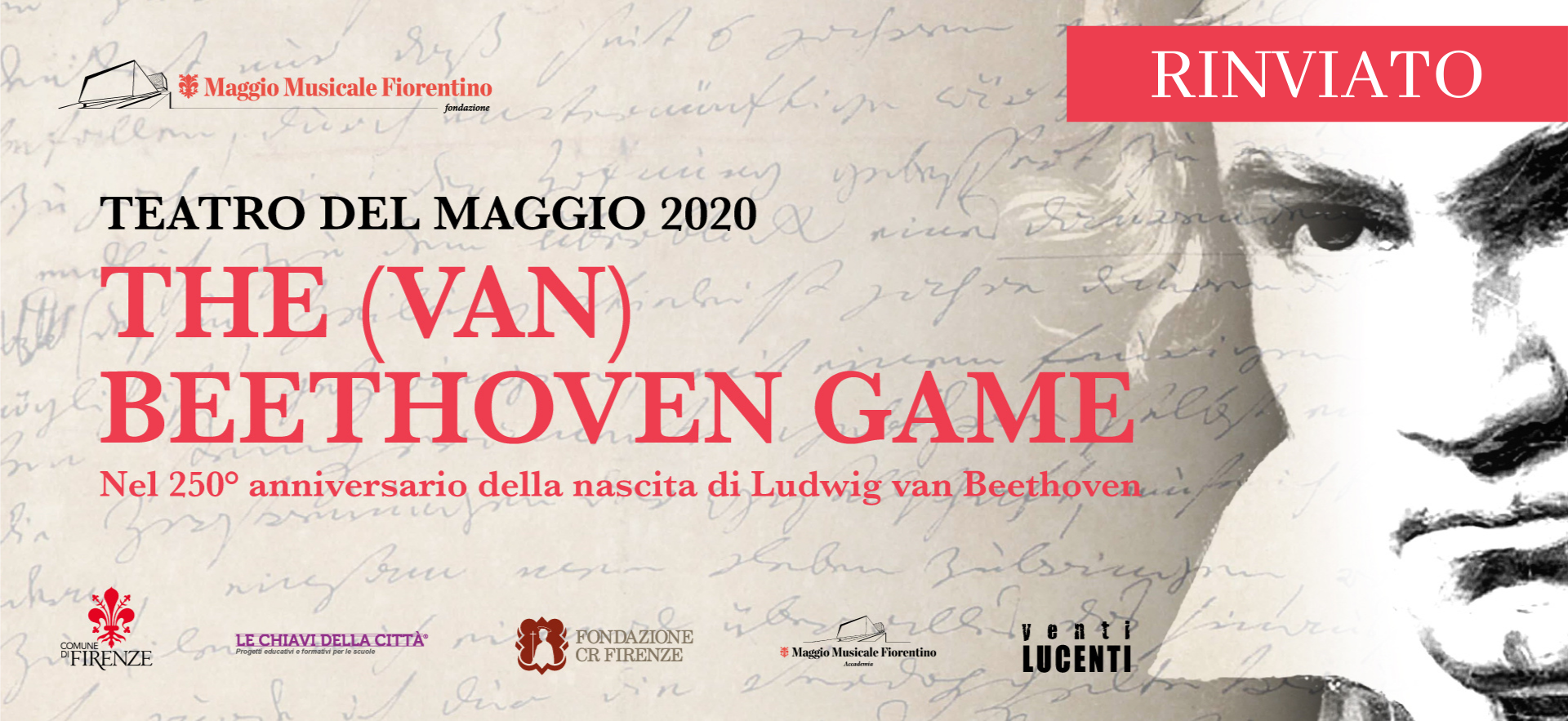 The (van) Beethoven Game 2020 Teatro del Maggio